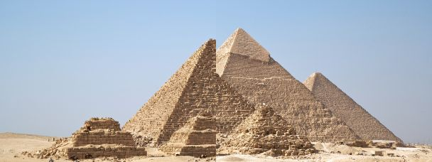 Gizah pyramids resized by tool, accounting for gap