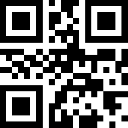 QR Code encoding the text Hello World